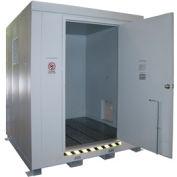 Option 2 Hour Fire Rating Upgrade for Outdoor Hazardous Storage Building -2 Drum