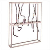 """Hanging Tailpipe Rack 48""""W x 18""""D x 120""""H"""