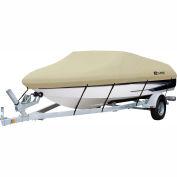 "Classic Accessories® Dryguard Waterproof Boat Cover 16'-18.5', 98"" Beam Gray -20-085-102401-00"