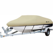 "Classic Accessories® Dryguard Waterproof Boat Cover 17' - 19', 102"" Beam Gray-20-086-112401-00"