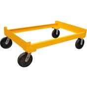 Vestil Portable Cart for 3 Drum Storage Rack DR-CART-3 2400 Lb. Capacity
