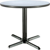 "KFI 36"" Round Restaurant Table - Laminate - Gray Nebula"