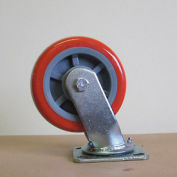 "8"" Polyurethane Swivel Caster 8229-SR for Little Giant® Carts"