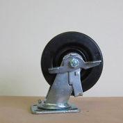 """6"""" Phenolic Swivel Caster with Brake 6231-SR-BK for Little Giant® Carts"""