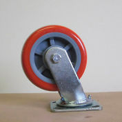 "6"" Polyurethane Swivel Caster 6229-SR for Little Giant® Carts"