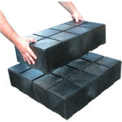 "Structural Plastic Dunnage Cube 24""W x 12""D x 6""H"