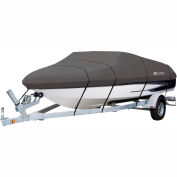 """Classic Accessories® Stormpro Boat Cover 16' - 18.5', 98"""" Beam Charcoal - 88938"""