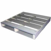 Rackable Extruded Plastic Pallet Lipped 36x36 2-Way Entry 1500 Lb Fork Capacity