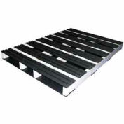 Rackable Extruded Plastic Pallet 60x42 2-Way Entry 1500 Lb Fork Capacity