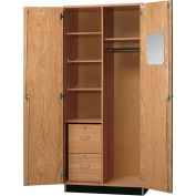 "Diversified Woodcrafts Wood Wardrobe Cabinet 360-3622 - 36""W x 22""D x 84""H"