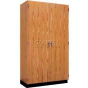 "Diversified Woodcrafts Wood Storage Cabinet 353-4822 - 48""W x 22""D x 84""H"