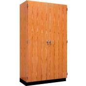 "Diversified Woodcrafts Wood Storage Cabinet 353-4822 - 48""W x 22""D x 84""H"
