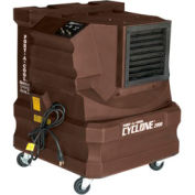 PortACool® Evaporative Cooler PACCYC02A Direct Drive 2 Speed 10-Gallon Reservoir Brown