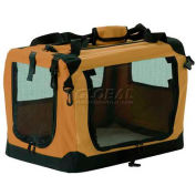 "Suncast® Fold Away Portable Pet Kennel, 15"" Tall Dogs"