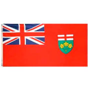 3 x 6 ft Nylon Ontario Flag