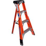 Werner 4' Fiberglass Tripod Step Ladder - FTP6204