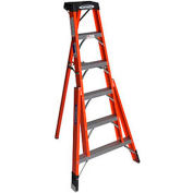 Werner 6' Fiberglass Tripod Step Ladder - FTP6206