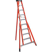 Werner 10' Fiberglass Tripod Step Ladder - FTP6210