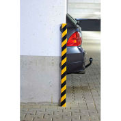"""Surface Bumper Guard with Steel Support, Type H+, 39-3/8""""L x 2-3/8""""W x 2-3/8""""H"""
