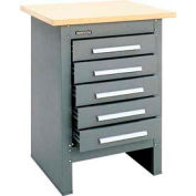 Heavy Duty Workstation Tool Stand with 5 Drawers