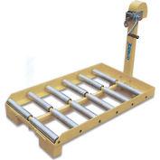 Wesco® Forklift Battery Transfer Platform 274260 4000 Lb. Capacity