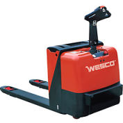 Wesco® Deluxe Self-Propelled Electric Power Pallet Truck 273446 4400 Lb.