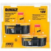 DeWALT® DC9096-2 18V NiCD XRP Battery 2.4Ah 2Pk