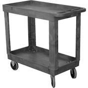 Wesco® Economy Plastic Tray Shelf Service Cart 270494 30x16 330 Lb. Cap.