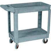 Wesco Deluxe Plastic Tray Shelf Service Cart 270433 30x16 550 Lb. Cap.