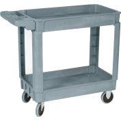 Wesco® Deluxe Plastic Tray Shelf Service Cart 270434 36x24 550 Lb. Cap.