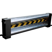 Galvanized Drop-In Guard Rail 4 Ft. with (2) Brackets and Hardware