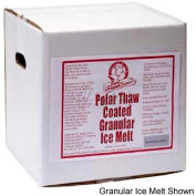 Bare Ground Coated Granular Ice Melt w/ CaCl Pellets - 40 Lb. Box
