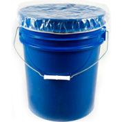 Protective Lining Corp. DC5 5 Gallon Pail Elastic Dust Cover 4 mil 100 per Case - Pkg Qty 100