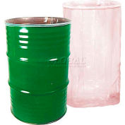 Protective Lining Corp. 55 Gallon Low Density Smooth Antistatic Drum Insert 15 mil 20 Units per Case - Pkg Qty 20