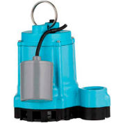 Little Giant 509209 9EN Series Sump Pump - 20' Power Cord & Float Switch
