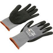 PIP G-Tek® MaxiFlex Nitrile Coated Knit Nylon Gloves, Medium, 12 Pairs