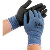PIP G-Tek® Nitrile MicroSurface Nylon Grip Gloves, 12 Pairs/Dozen, Large