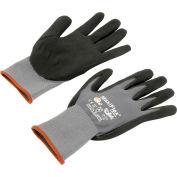 PIP G-Tek® MaxiFlex Nitrile Coated Knit Nylon Gloves, Large, 12 Pairs