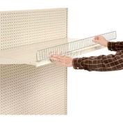 "48""L x 3""H Shelf Wire Front"