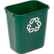 Rubbermaid® Deskside Green Recycling Container - 28-1/8 Qt.