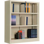 """All Steel Bookcase 36"""" W x 12"""" D x 42"""" H Putty 3 Openings"""