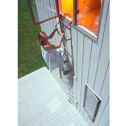 ResQLadder® 15 Foot Emergency Escape Ladder with Sleeves - FL15SL