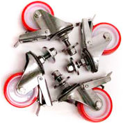 3M Set of 4 Casters for Case Sealers