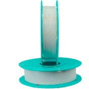 Paper/Plastic Standard Twist Tie Ribbons, 30-2500, 2500'L White