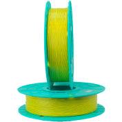"""Tach-It Paper/Plastic Standard Twist Tie Ribbons, 2500'L x 5/32""""W, Yellow"""