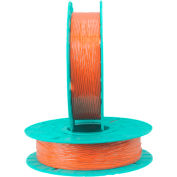 Paper/Plastic Standard Twist Tie Ribbons, 30-2500, 2500'L Orange
