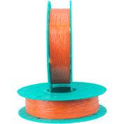 Twist Tie Material, 17-2000, 2000'L Spool Orange
