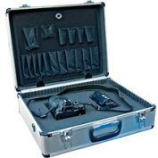 "Aluminum Tool Case With Foam - Vestil CASE-1814-FM 18"" x 14"" x 6"""