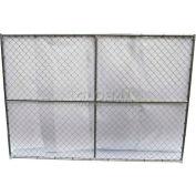 """Steel Construction Barrier Unit 7'6"""" L x 6'H"""