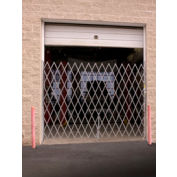 Illinois Engineered Products SSG1265 Single Folding Gate 11'W to 12'W and 6'H
